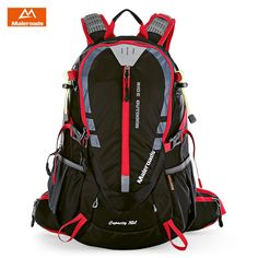 Maleroads 30L Outdoor Sports Backpack Hiking Camping Water Resistant Nylon  Travel Luggage Bike Rucksack Bag With 7f9b39939095e