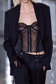 Anthony Vaccarello at Paris Fall 2016 (Details)
