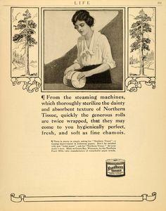 Vintage Toilet Paper Ad - Bing images