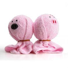 Schweine-förmigen Handtuch