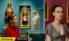 10 Creative Oil Paintings by Mark Lang for your inspiration http://myartmagazine.com/canada-artists | Art Magazine http://myartmagazine.com | Follow us www.pinterest.com/myartmagazine