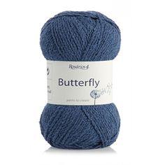 Butterfly 100% selyemfonal.