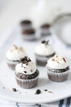 Hazelnut Chocolate Cupcakes