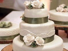 """Our wonderfull weddingcakes from """"söta stunder"""". Made by Linnea Bryndahl."""