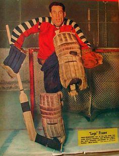 Legs Fraser - Ottawa Senators Goalie - HockeyGods strives to untie hockey fans from across the globe covering all types of hockey imaginable. Stars Hockey, Ice Hockey Teams, Hockey Goalie, Hockey Highlights, Hockey Room, Goalie Mask, Usa Sports, Tim Hortons, Vancouver Canucks