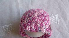 MelinetDecorCrochet / Dievčenská čiapka