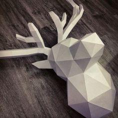 stag antlers low poly - Google-søk