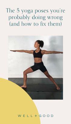 yoga Intermediate Yoga Poses, Yoga Matt, Warrior Pose, Yoga Moves, Healthy Lifestyle Tips, Injury Prevention, Yoga Teacher, You Fitness, Pilates