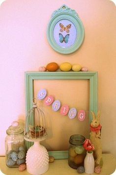 DIY Easter button Crafts | 25 DIY Easter Projects to Make!
