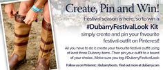 Create, Pin & Win! Dubarry are giving you the chance to win the #DubarryFestivalLook with the fantastic competition.