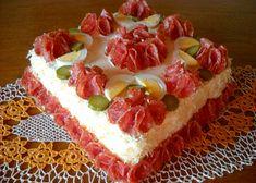 Hermelínová pomazánka do slaného dortu recept - TopRecepty.cz Cheesecake, Toast, Pizza, Food, Cheesecake Cake, Cheesecakes, Hoods, Meals, Cheesecake Bars