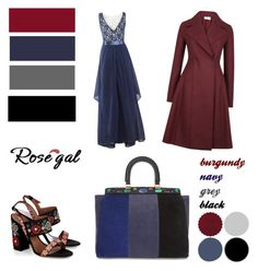 """""""Rosegal"""" by irinavsl ❤ liked on Polyvore featuring Harris Wharf London, Tory Burch and Tabitha Simmons"""