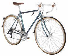 Bobbin Scout (Topaz) Oil slick paint retro road bike