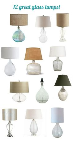 """Jane wrote to me the other day, inquiring about a glass lamp in a favorite image from the Better Homes & Gardens galleries and also appearing on page 10 of the recent publication New Cottage Style. """"Hi Kate, I have been looking at pictures of living rooms in the New Cottage Style by Better Homes [...]"""
