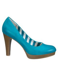 miranda pump in teal #maurices