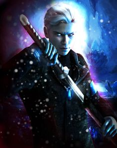 Vergil - The Ice Nephilim by AnnaPostal666 on deviantART