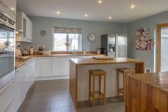 4 bedroom detached house for sale in School Road, Risby, Bury St. Kitchen Extension Layout, Detached House, Property For Sale, Table, Inspiration, Furniture, Home Decor, Biblical Inspiration, Decoration Home