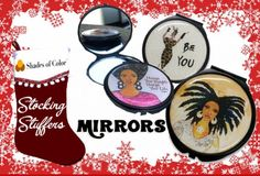 #StockingStuffers #StockingStuffersForAdults #InspirationalGifts #ChristmasGifts #AfricanAmericanGifts #Christmas #ChristmasIdeas #Christmas2017 #SmallGifts #Mirrors #PocketMirror
