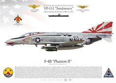 """UNITED STATES NAVY Fighting ONE ELEVEN (VF-111) """"The Sundowners"""" USS CORAL SEA (CVA-43), CVW-15, 19726 march 1972, Lt.Weigand G.L. and his JG, Lt. Freckleton W.C., shot down a North Vietnamese MiG-17 with an AIM-9 """"Sidewinder"""". Call sign """"OldNick 201"""""""