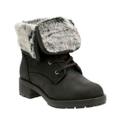Reunite Up Gtx Black Leather womens-waterproof-boots