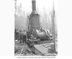 Logging Companies in Washington | Copyright University of Washington
