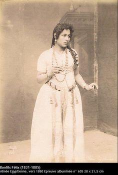 Almée égyptienne - c. 1880