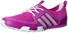 adidas Womens W CC Ballerina II Golf Shoe Flash PinkRunning WhiteRunning White 85 M US -- You can find out more details at the link of the image.