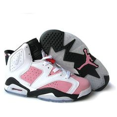 Jordan Shoes Womens Air Jordan 6 Retro White Pink Black [Womens Air Jordan 6 - Things are changing today though, as we get a detailed look and notify you that they are available here. This Womens Air Jordan 6 Retro White Pink Black features white leath Air Jordans Women, Womens Jordans, Nike Air Jordan 6, Air Jordan Shoes, Jordan Swag, Air Max Nike Mujer, Zapatos Air Jordan, Jordan Shoes For Women, Shoes Women