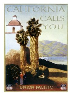 Union Pacific Railways poster