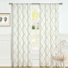 Laura Ashley 2 Pack Lifestyles Windsor Window Curtains