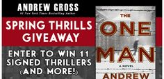 Enter here: http://www.booksweeps.com/giveaways/spring-thrills-giveaway/?lucky=2613 To win 11 Signed Thriller Novels PLUS a Brand New Kindle Fire!
