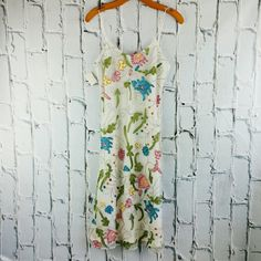 """SALE Gorgeous GIANFRANCO FERRE Summer Dress Gorgeous NWT GIANFRANCO FERRE Summer Dress 43"""" from top of shoulder to bottom 16"""" from armpit to armpit 100% Polyester Gianfranco Ferre Dresses"""