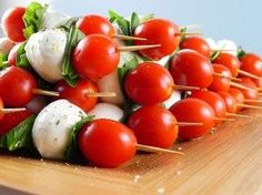 CAPRESE KABOB -- easy to make and great party food!!