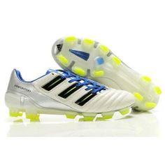 cheap for discount 9c40a 1c856 Adidas Predator TRX FG Adipower Blanc Argent Bleu Nike Soccer Shoes, Soccer  Boots, Football