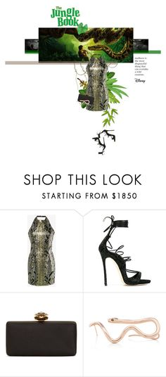 """""""The Jungle Book"""" by sharmarie ❤ liked on Polyvore featuring Balmain, Dsquared2 and Alexander McQueen"""