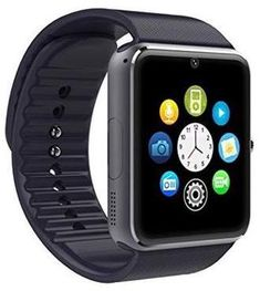Samsung AmazingForLess Black Bluetooth Smart Wrist Watch Phone mate for Android HTC LG Touch Screen with Camera Best Smart Watches, Wrist Watch Phone, Camera Watch, Electronics Projects, Smartwatch, Lg Touch, Water Reminder, Shopping, Tecnologia