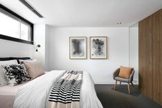 Breathtaking transformation of double fronted freestanding Victorian residence by Kirsty Ristevski - CAANdesign Modern Victorian, Victorian Homes, Paint Colors For Home, House Colors, Home Interior, Interior Architecture, Weatherboard House, Bedroom Design Inspiration, Bedroom Inspo