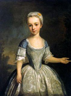 Portrait of A Young Girl by Bartholomew Dandridge