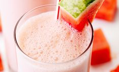 Summertime and watermelon? Simply blend watermelon and a hint of lemonade blended with an HMR vanilla shake and you'll be sipping on summer. Weight Loss Shakes, Shake Recipes, Summer Bbq, Lemonade, Watermelon, Summertime, Vanilla, Diet, Healthy