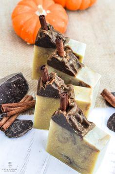 Dark Chocolate Pumpkin Soap Recipe