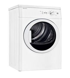 Dryer of laundry pair features 15 automatic modes for perfect results every time. Stacking kit included with dryer. Both washer and dryer premium. Dryers For Sale, Stainless Steel Drum, Laundry Drying, Clothes Dryer, Laundry Room Design, Washer And Dryer, Interior Design Living Room, Cool Kitchens, Cool Things To Buy