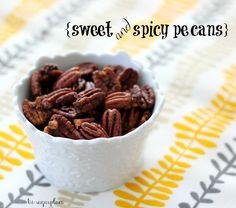 Sweet & Spicy Killer Pecans by hi sugarplum!