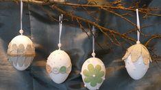 Frühlingsdeko / Osterdeko basteln – Eier dekorieren / tinker spring deco...
