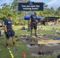Building Code, Building A Deck, Concrete Deck Blocks, Deck Foundation, Easy Deck, Digging Holes, Raised Deck, Make Build