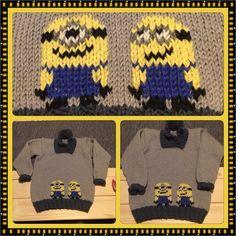 #happybabyboy #crocheting #knitting #pyssel #hekling #strik #crochetaddict #krea #crocheted #crochetblanket #sticka #häkeln #ganchillo #håndarbeid #hækle #strikking #haken #hekle #virka #strikkedilla #yarn #stricken #strikke #hekledilla #handarbete #knittersofinstagram #minions #minion #minionlove by hennys_lykkedesign