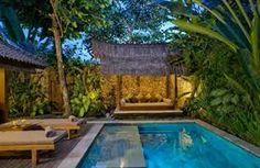 balinese pools on a hill - Google Search