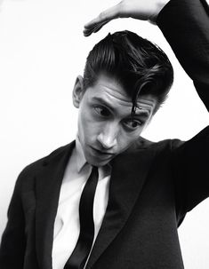 Another Man S/S 13 Cover with Arctic Monkeys frontman Alex Turner Teddy Girl, Teddy Boys, Teddy Boy Hair, Arctic Monkeys, Alex Turner Hair, Era Album, El Rock And Roll, The Wombats, The Last Shadow Puppets