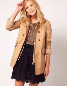 I need this this winter! ---->Best Trench Coats For Fall 2012 Photo 15