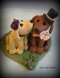 dave would dump me if i got this. Wedding Cake Topper Custom Cake Topper by trinasclaycreations, $85.00
