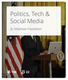 A series looking at how technology and social media is changing politics.
